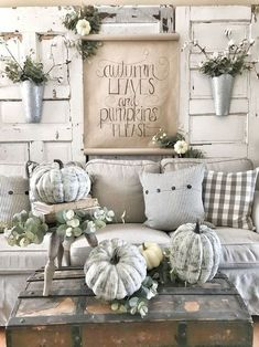 7 Mind Blowing Cool Tips: French Vintage Home Decor vintage home decor boho shelves.Vintage Home Decor Farmhouse Shabby Chic vintage home decor kitchen barn doors.Vintage Home Decor Shabby Keep Calm And Diy. Fall Home Decor, Autumn Home, Diy Home Decor, Decor Crafts, Fall Decor Signs, Fall Kitchen Decor, Country Farmhouse Decor, Rustic Decor, Farmhouse Ideas