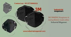 3M Anti pollution mask- Buy Online 3M 9000ING respirator & anti-pollution mask at India's best online ecommerce industrial megamart shopping store. Industrial Megamart gives best service of 3M respiratory mask with quick delivery, best discount, multiple options for online payments or cash on delivery. The purpose of online shopping of 3M Anti pollution mask only for wear a mask and stay safe, maintain social distancing and protect from the pollution, dust, virus and micro bacteria…