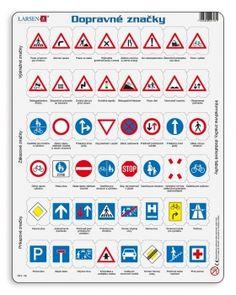 Dopravné značky - slovenská verzia