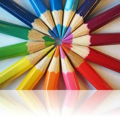 Colored pencils - simple