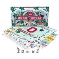 Buck-Opoly The Ohio State University Monopoly Game Alabama College Football, Football Gear, Ohio State Football, Oklahoma Sooners, American Football, Ohio State Buckeyes, Ohio State University, Ohio State Gear, Buckeye Nut