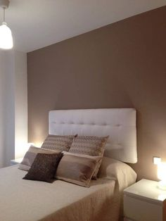 idée déco chambre beige et marron - 2   CHAMBRE ETAGE   Pinterest ...