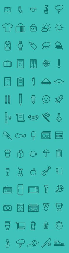 Medlee Iconset - AI EPS & PSD (80 Icons) #freeicons #iconset #lineicons #vectoricons #psdicons #flaticons
