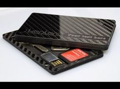 10 Best Futuristic Wallets You Must Try. The design is elegantly simple and the materials used lend the wallet a futuristic feel, something sure to be appre. Edc Wallet, Money Clip Wallet, Slim Wallet, Card Wallet, Money Clips, Pocket Wallet, Card Case, Rfid Blocking Wallet, Minimalist Wallet