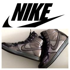 promo code 1fffd 03d3f Selling this Gunmetal Silver Nike Dunks in my Poshmark closet! My username  is  choflo