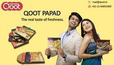Qoot Homemade Papads Avaiable in a variety of flavors to spice up your meal. http://qoot.in/ #bikanerpapad, #punjabimasalapapad, #buypapadonline, #India , #qootpapad , #QootMasti