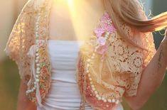 Cute vintage lace bolero with embroidered detail. Custom orders available in our Etsy store. #vintagelace #bolero #shrug #weddingaccessories #bohowedding #bohobride #perthsmallbusiness #alternativebride #indiebride #hippiewedding #bohemianbride #embroidery #embroideryart #hippiestyle #bohostyle #freespirit #weddings #handembroidery #perthcreatives #australiandesigner #perthfashion #etsyseller #etsyau #bohochic #gypsywedding #gypsystyle #gypsyaccessories #weddingjacket #hippiewedding #hippie
