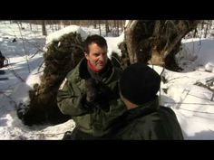 For those of you who have never seen Rick Mercer on CBC (Canadian TV) this is one of his humorous clips. Rick is known to do a variety of fascinating activities around the country, each something that is rarely encountered and approached with his wit. This week (well, from March 2009) he tagged some bears, mom and cubs, in the frozen hinterland of Algonquin Provincial Park.