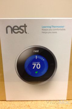 The Nest Thermostat Is Now Available At The Apple Store