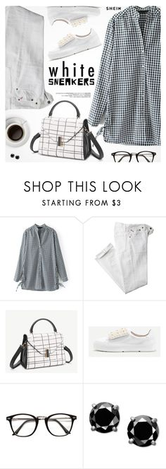 """""""So Fresh: White Sneakers"""" by pokadoll ❤ liked on Polyvore featuring Polo Ralph Lauren"""