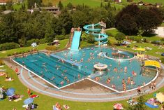 waterpark Zell am ziller Outdoor Swimming Pool, Swimming Pools, 50 States, Holiday Destinations, Holiday Travel, Austria, Abandoned, Backyard, Camping