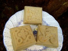 Goat milk soap with pepperment eucalyptus by creationsbycorina, $3.00