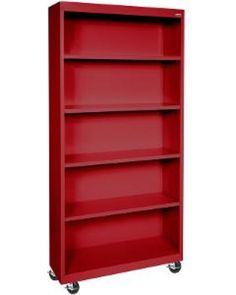 Sandusky Lee Corporation 5-Shelf Mobile Bookcase, BM40-361872-00, BM40 361872 00, BM4036187200