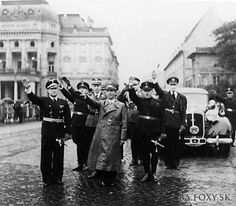 Joseph Goebbels on an official visit to Bratislava Bratislava, Joseph Goebbels, Ww2, Concert, Third, Photographs, Europe, Retro, Recital