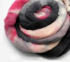 Paris At Last Spinning Fiber  Hand Dyed Roving by DyeabolicalYarns, $15.00