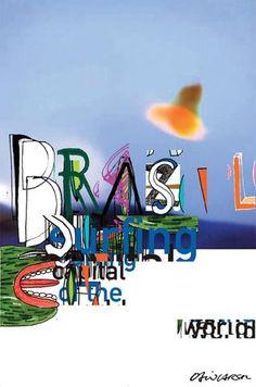 "Brazil ""Surfing"" - David Carson."