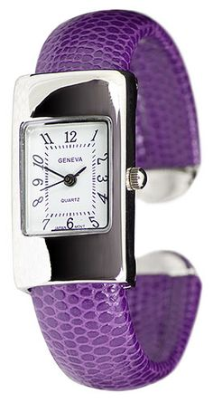 Narrow Purple Watch