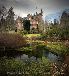 Aigas House in Beauly, Scotland.