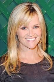 Reese Witherspoon Hair with side bangs.
