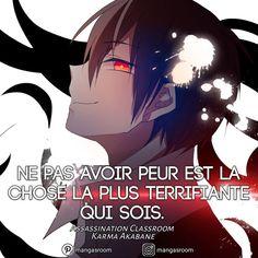 Manga Anime, Otaku Anime, Anime Boys, Assassination Classroom Karma, Humor Otaku, L Death, Yes Man, Manga Quotes, Teacher Memes
