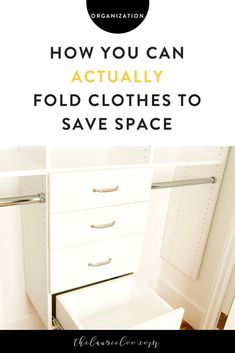 Have you ever wondered the real way to fold clothes to save space? I can guarantee you it's not rolling your clothes or vacuum sealing them. French Capsule Wardrobe, Capsule Wardrobe Essentials, Capsule Wardrobe How To Build A, Summer Wardrobe, Tiny Closet, My Unique Style, Look Chic, Wardrobes, Space Saving