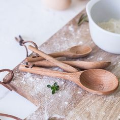 Wooden Measuring Spoons [$6.79]