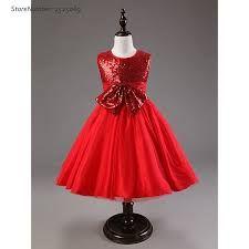 3f4a7eea9 Resultado de imagen para vestidos de niña rojo Vestidos Rojos Para Niñas,  Vestidos Facil De
