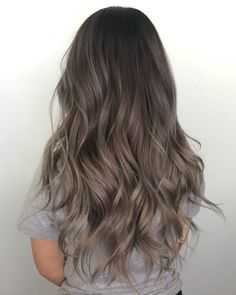 Ash Brown Hair Color, Brown Hair Shades, Brown Hair With Highlights, Ombre Hair Color, Light Brown Hair, Blonde Shades, Grey Hair, Black Hair, Color Highlights