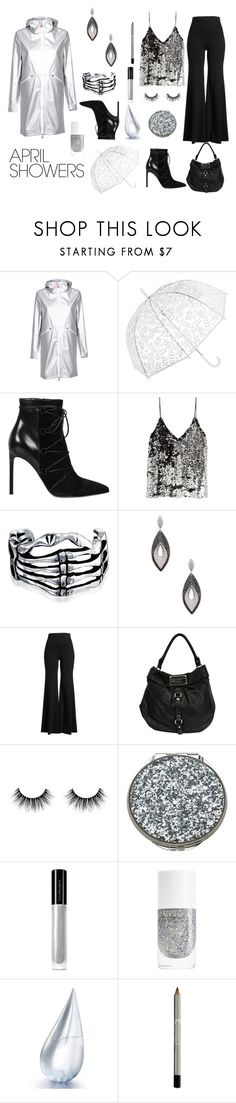 Untitled #1040 by siriusfun on Polyvore featuring Samsøe & Samsøe, Save the Duck, Rosetta Getty, Yves Saint Laurent, Marc by Marc Jacobs, Roberto Coin, Bling Jewelry, H&M, Illamasqua and La Prairie