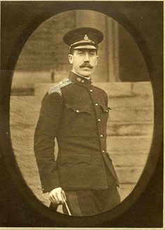 Maj. John Leslie Mowbray DSO (MID 2x) 41st Brigade, Royal Field Artillery. KIA Battle of the Somme 21.07.1916 aged 41. Educated Radley College. Buried Peronne Road Cemetery, Maricourt. Grave Ref: IV. F. 20. Son of Charles Cochrane & Louisa Mowbray.