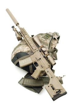 Sniper light gear with silencer Weapons Guns, Military Weapons, Airsoft Guns, Guns And Ammo, Tactical Rifles, Firearms, Sniper Rifles, Shotguns, Armas Airsoft