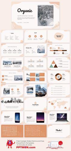 Organic Free PowerPoint Template Google Slides Theme