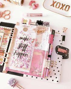 Cute Planner, Planner Layout, Happy Planner, Year Planner, Planner Diy, Planner Stickers, Printable Planner, Printables, Cool School Supplies