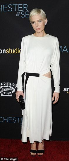 Perfect role: Williams said that the bravery exhibited by her character in the film 'moved...