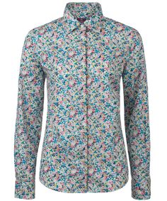 Blue Claire-Aude Print Shirt, Liberty London. Shop more Liberty print shirts from the Liberty London collection online at Liberty.co.uk