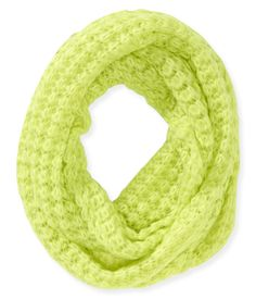 Solid Butterfly Knit Infinity Scarf from Aeropostale