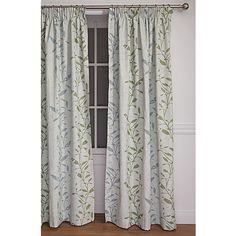 Elemis Curtains Aimee Foliage Large 160cm Drop - Elemis - Curtains - Curtains & Blinds - The Warehouse