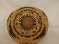 Antique Northern California Native American Indian HUPA Basket | eBay