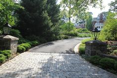 pretty driveway entrance - Google Search