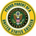 Let the world know you're a proud parent of a U.S. Soldier with these awesome magnets! #proudparent #magnetamerica