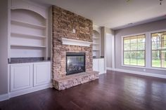 The living room of the Glenstone floor plan by Ball Homes.
