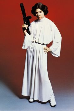 princess leia pictures star wars | Star Wars - Princess Leia Weapon - Wall Mural & Photo Wallpaper ...