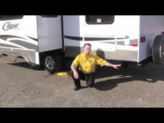 RV Leveling Tutorial – How To Make Sure You're Lined Up Right – RV Mods – RV Guides – RV Tips | DoItYourselfRV