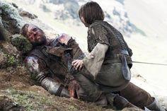Arya and Sandor 'The Hound' Clegane