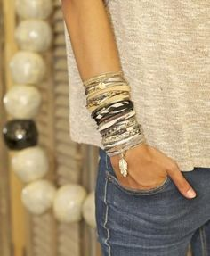 best Layered bracelets ideas