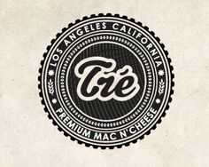 Proposed identity option for Tré (macaroni and cheese brand).