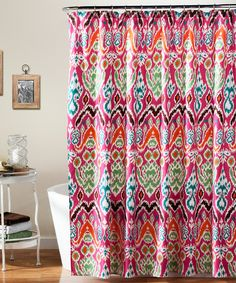 Look what I found on #zulily! Fuchsia Jana Shower Curtain by Lush Décor #zulilyfinds