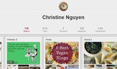 Christine Nguyen en Pinterest