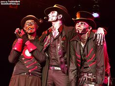 Steam Powered Giraffe at the Roxy. How about dem faces.