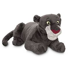 Disney Bagheera Plush - The Jungle Book - 14'' | Disney StoreBagheera Plush - The Jungle Book - 14'' - Wise old Bagheera the panther may seem a bit ''stuffy'' sometimes, but he's not above taking a nice soft hug once in a while from his favorite ''Man-Cub'': that's you!